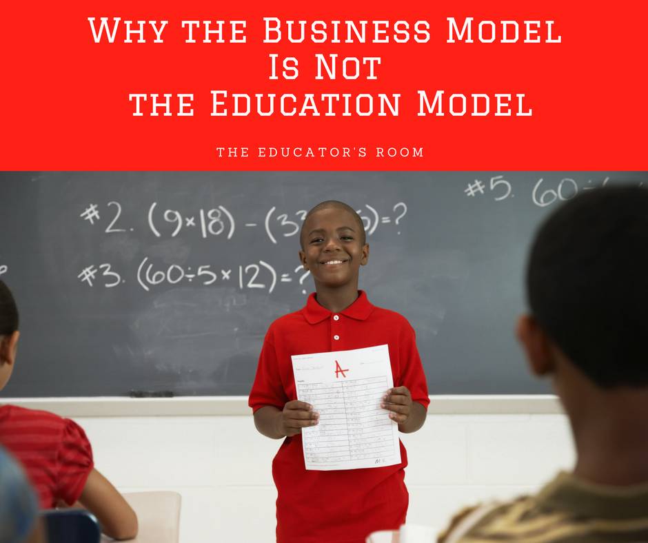 Business Model is not the Education Model