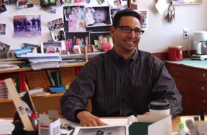 Educator Curtis Acosta, picture courtesy Rethinking Schools