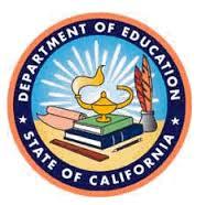 CA Dept of Education Seal