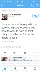NPR Blogger