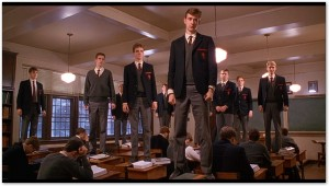 """Scene from """"Dead Poets Society,"""" / image courtesy Touchstone Pictures"""