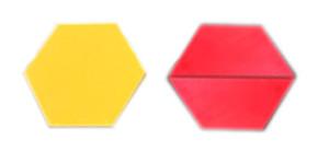 hexagon-trapezoid
