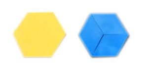 hexagon-rhombus