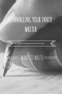 Channeling your inner writer