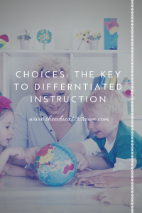 choices_ the key to differntiated