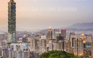 Diaries of an English Teaching Assistant in Taiwan- Christmas is Love in Action (1)