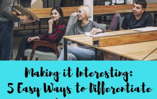 Making it Interesting- 5 Easy Ways to Differentiate Processes