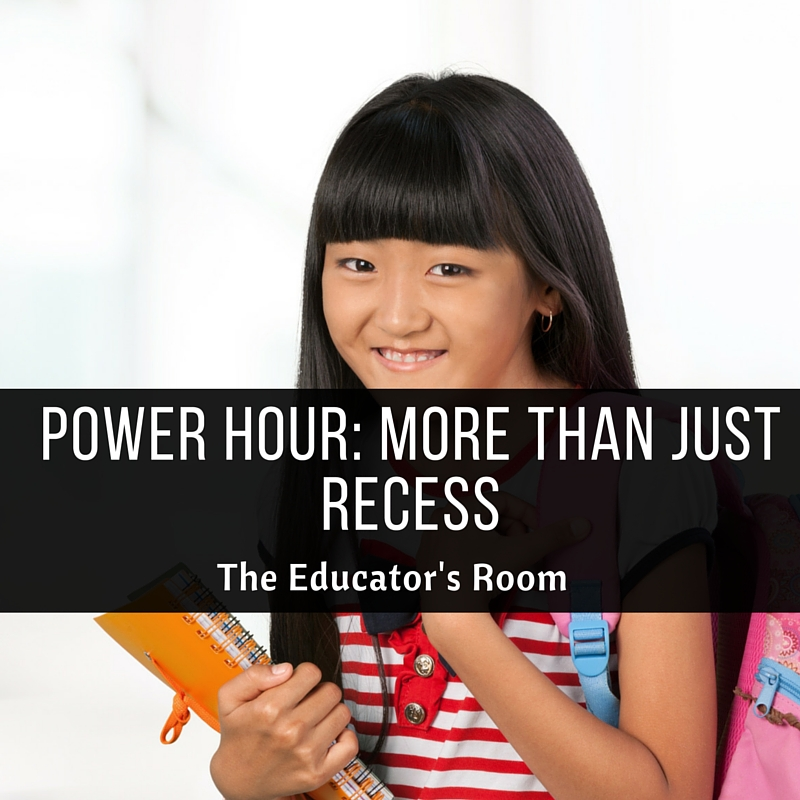 Power hour more than just recess the educators room power hour malvernweather Choice Image