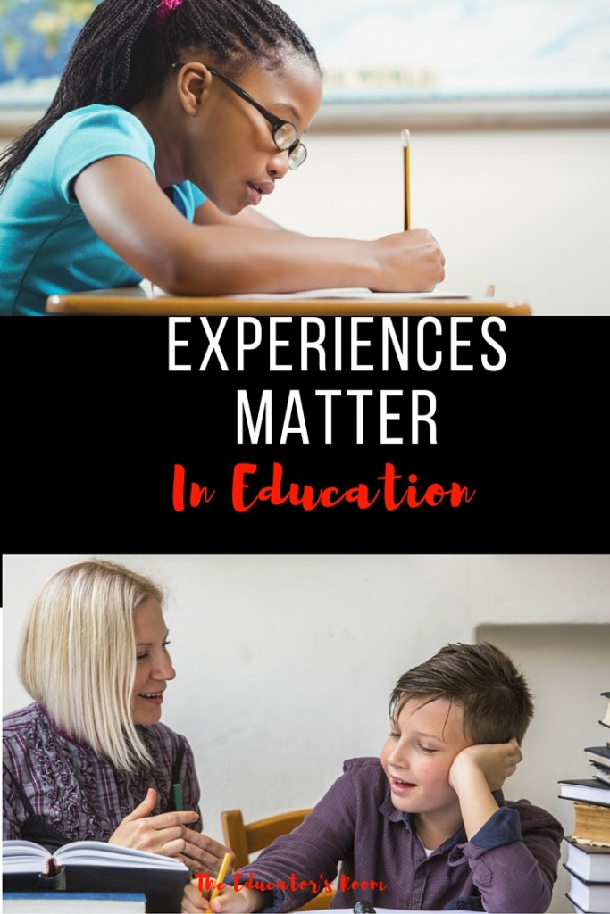 Experiences Matter