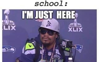 end of school meme
