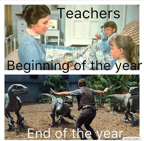end of the year teaching meme