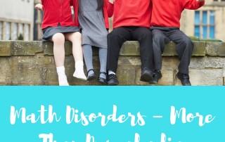 Math Disorders
