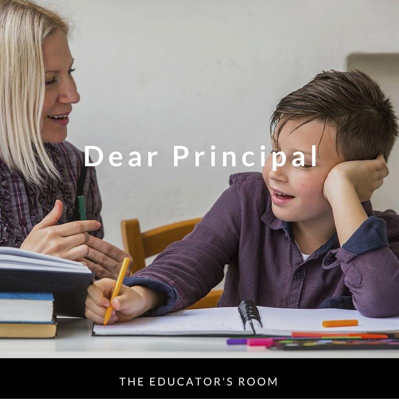 Dear Principal