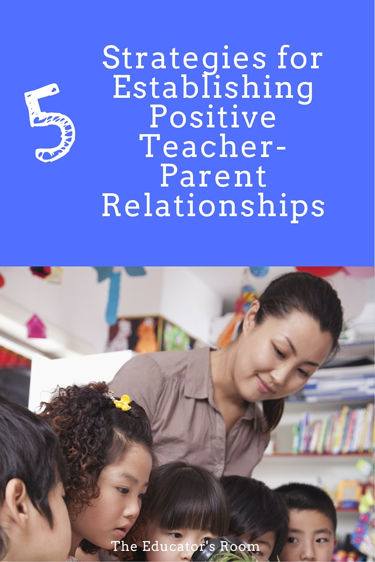 Strategies for Establishing Positive Teacher-Parent