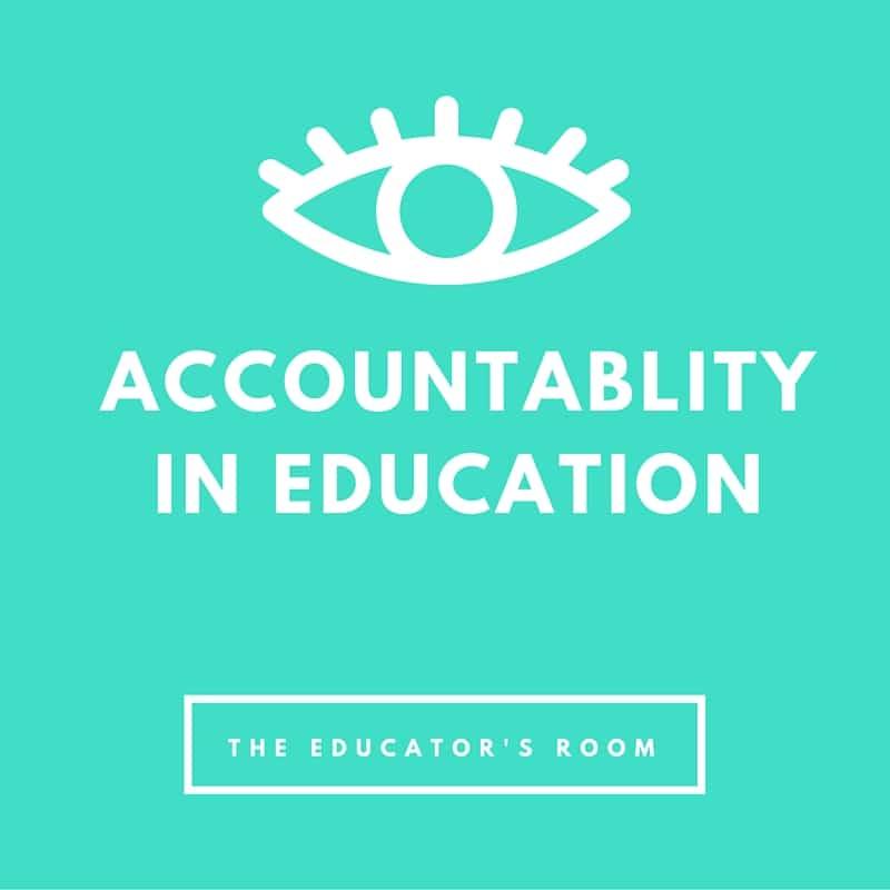 Accountablity in education