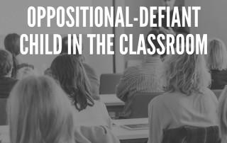 Oppositional-Defiant Child