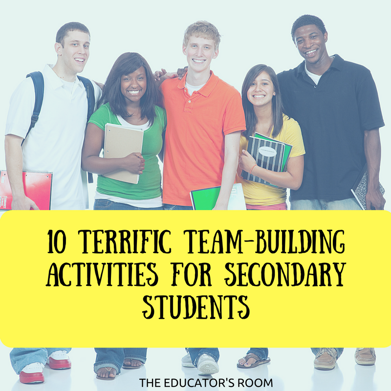 10 Terrific Team-Building Activities for Secondary Students (1)