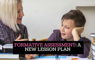 Formative Assessment - a New Lesson Plan