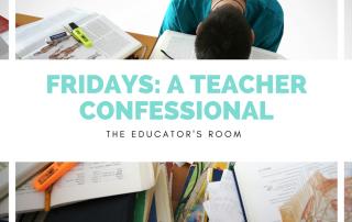 teacher confessional