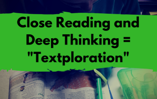 Close Reading and Deep Thinking = Textploration (1)