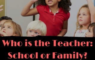 Who is the Teacher- School or Family- (1)