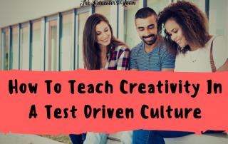How to teach Creativity