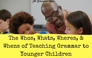 Teaching Grammar to Younger Children