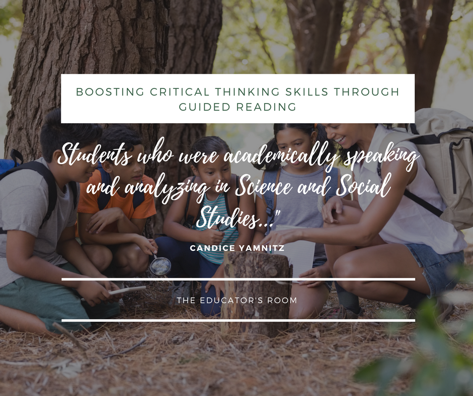 Boosting Critical Thinking Skills Through Guided Reading   The