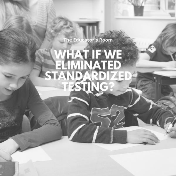 reasons why standardized tests should be eliminated During september of 2015, montgomery county public schools decided to eliminate final exams, and instead use quarterly tests or projects which can test students' learning comprehension on less content but more in depth.