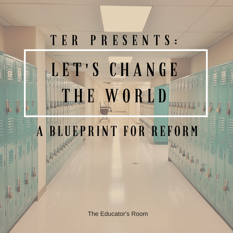 Dear ter readers and educators lets change the world the education funding malvernweather Image collections