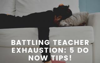 teacher exhaustion