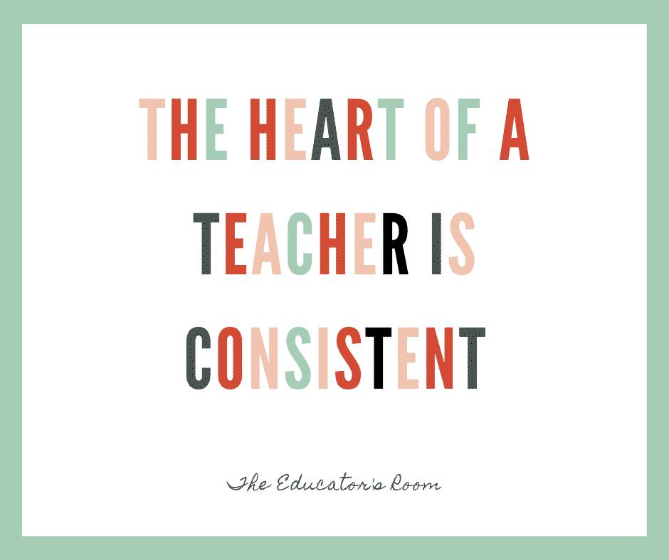 Heart of a Teacher