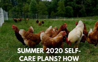 Self-Care Plans