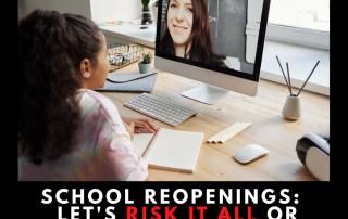 school reopenings