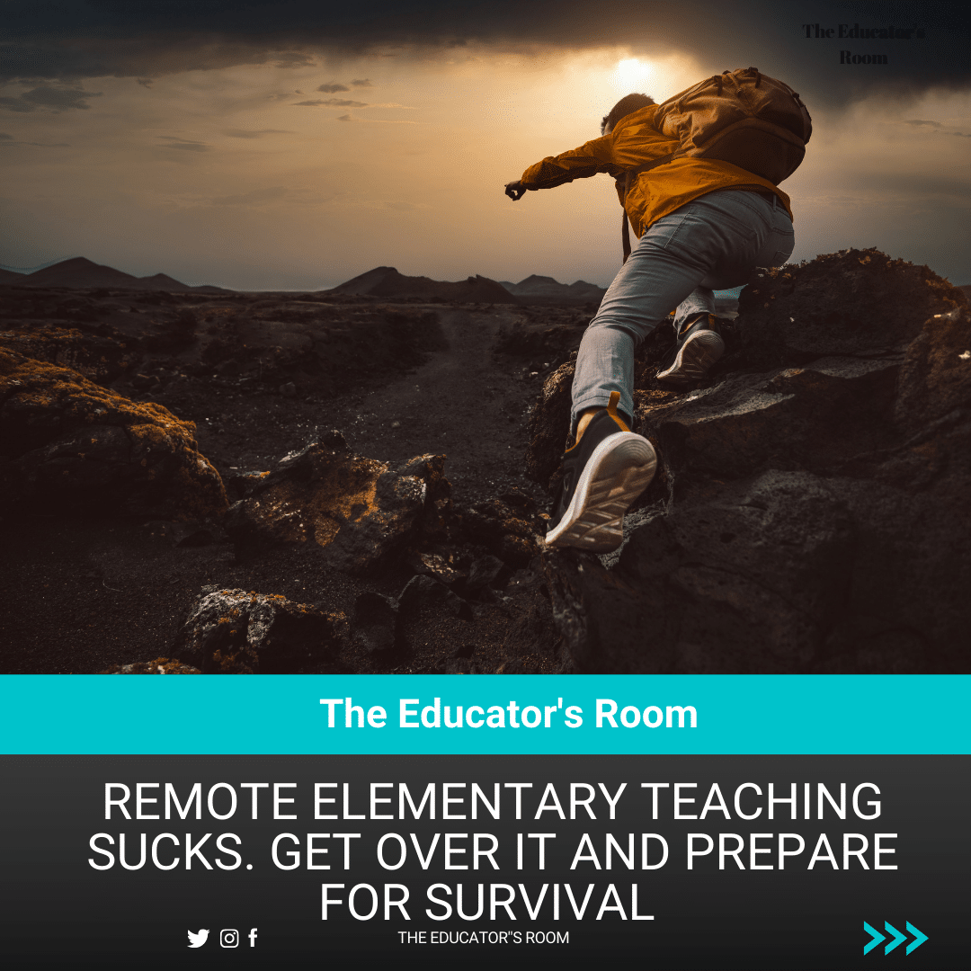 Remote Elementary Teaching