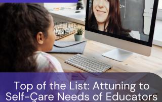 Teacher Self-Care