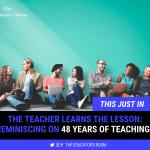 48 Years of Teaching