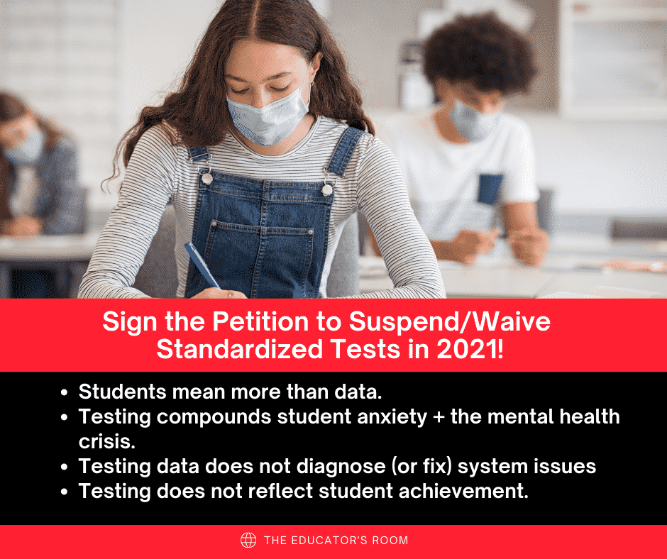 Suspend Standardized Testing