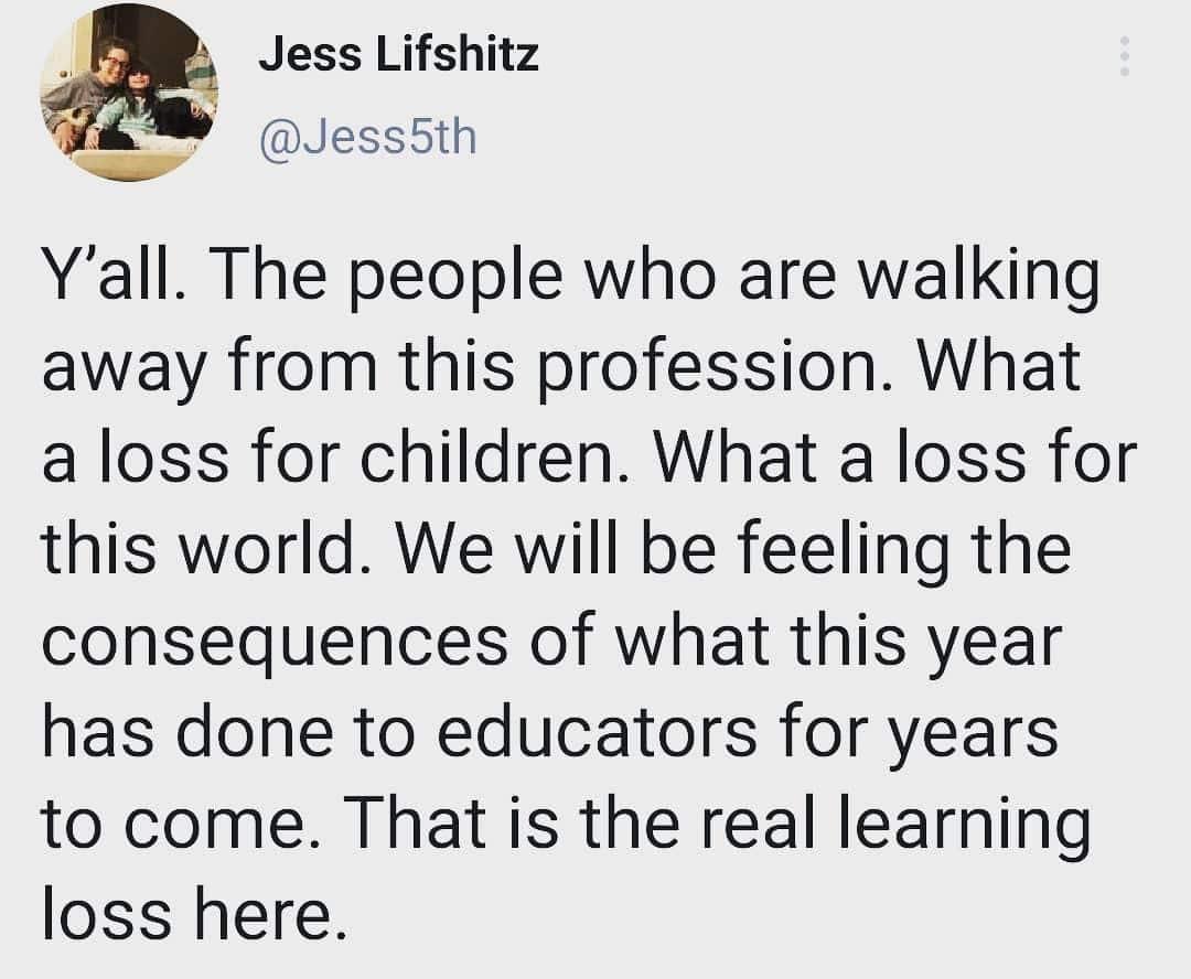 Mass Teacher Exodus