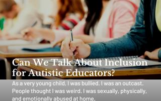 Autistic Educators