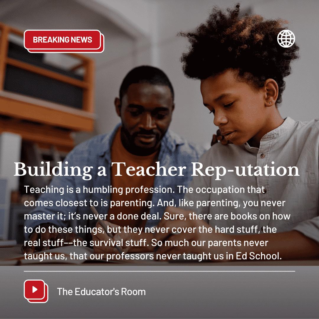 Teacher Rep
